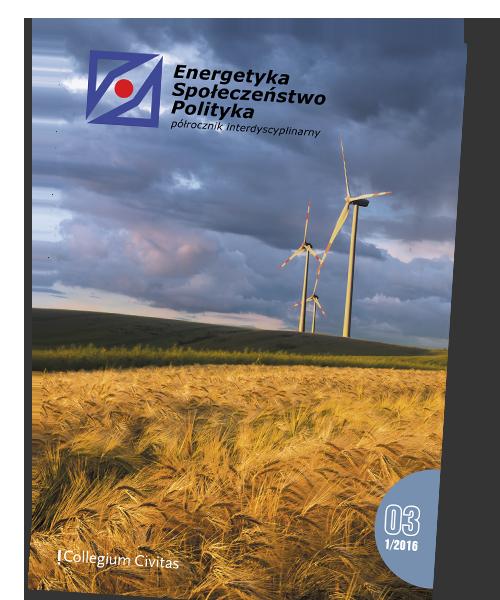 Okładka pisma Energetyka-Społeczeństwo-Polityka 05